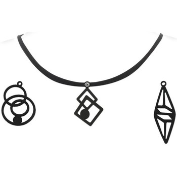 Montres & Bijoux Femme Colliers / Sautoirs Blue Pearls LAD 0600 G Autres