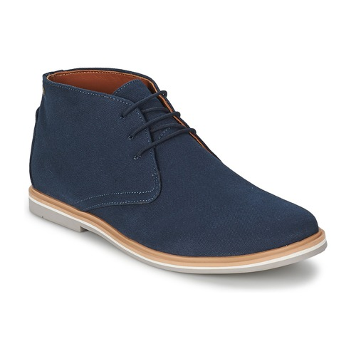 Chaussures Homme Boots Frank Wright BARROW NAVY CANVAS