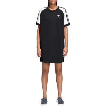 Vêtements Femme Robes courtes adidas Originals RAGLAN DRESS NEGRO Noir