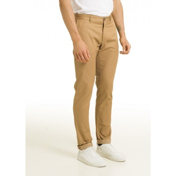 Vêtements Homme Pantalons Chevignon Pantalon chino slim SABLE