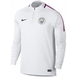 Vêtements Homme Sweats Nike Maillot de football  Manchester City FC Dry Squad Drill - 854727 Blanc