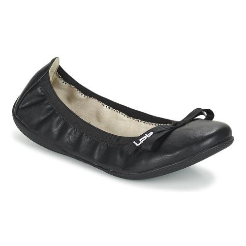 Femme Lpb BallerinesBabies Ella Noir Shoes FK1clJ