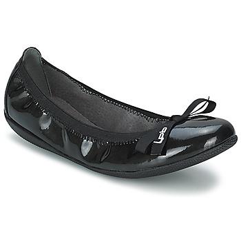 Chaussures Femme Ballerines / babies Les P'tites Bombes ELLA VERNIS Noir
