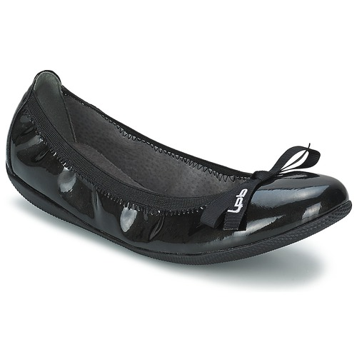 Chaussures Femme Ballerines / babies LPB Shoes ELLA VERNIS Noir