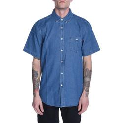 Vêtements Homme Chemises manches courtes Obey KEBLE II Bleu
