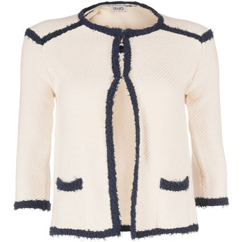 Vêtements Femme Gilets / Cardigans Liu Jo SNOW WHITE Blanc