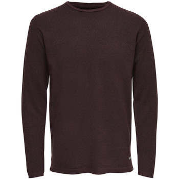 Vêtements Homme Pulls Only & Sons 22006790 rouge