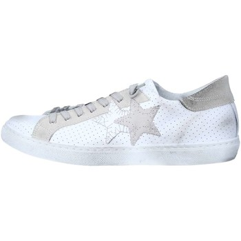 Chaussures 2 stars 2s1821 basket homme white ice