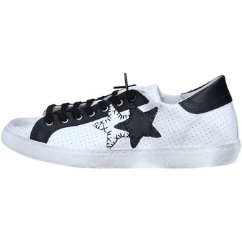 Chaussures 2 stars 2s1823 basket homme white / black
