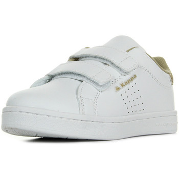Chaussures Fille Baskets basses Kappa Palavela 2V Kid blanc