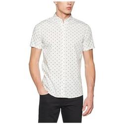 Vêtements Homme Chemises manches courtes !solid HOMER Blanc