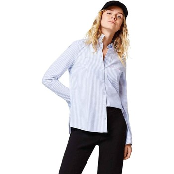 Blouses Esprit by esprit camisa be happy azul mujer