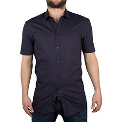 Vêtements Homme Chemises manches courtes Minimum MACON Bleu