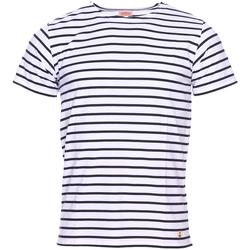 Vêtements Homme T-shirts manches courtes Armor Lux - tee-shirt BLEU
