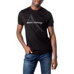 Vêtements Homme T-shirts manches courtes EAX 8NZT76 Z8H4Z Noir