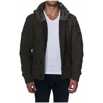 Vêtements Homme Vestes / Blazers Salsa Veste en maille  Cambridge marron