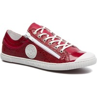 Chaussures Femme Baskets mode Pataugas Femme pataugas sneakers bisk rouge