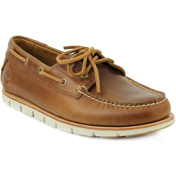 Chaussures Homme Chaussures bateau Timberland Homme timberland bateaux sahara Marron