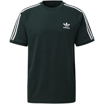 Vêtements Homme T-shirts manches courtes adidas Originals T-shirt 3-Stripes green