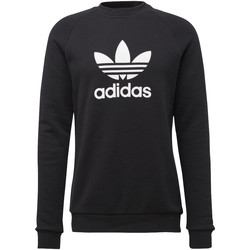 Vêtements Homme Sweats adidas Originals Sweat-shirt Trefoil Warm-Up Crew Noir