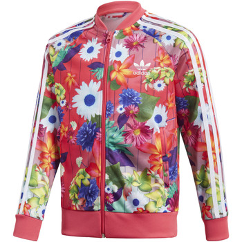 Vêtements Fille Vestes de survêtement adidas Originals Veste GRPHC SST Multicolore / Blanc