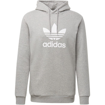 Vêtements Homme Sweats adidas Originals Sweat-shirt à capuche Trefoil Warm-Up Gris