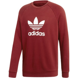 Vêtements Homme Sweats adidas Originals Sweat-shirt Trefoil Crew Rouge