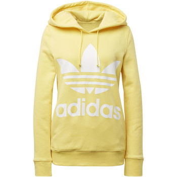Vêtements Femme Vestes de survêtement adidas Originals Sweat-shirt à capuche Trefoil yellow