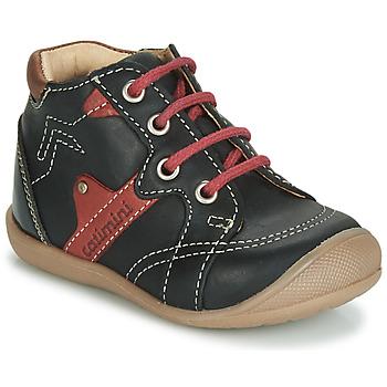 Chaussures Garçon Baskets montantes Catimini GASTON Noir / Rouge