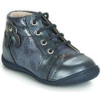 Chaussures Fille Baskets montantes GBB NICOLE VTV BLEU GRIS-IMPR DPF/KEZIA
