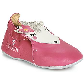 Chaussures Fille Chaussons bébés Catimini HERISSETTE Rose