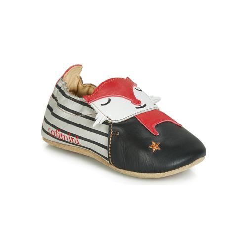 Chaussons Rouge Catimini Chaussures NoirGris Renardou Garçon CBWrdxeo
