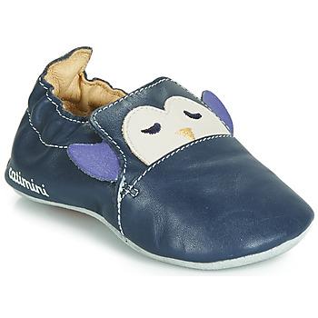 Chaussures Garçon Chaussons bébés Catimini PINGOU Marine   Ecru.  Enregistrer. Soldes b3c0c647b62e