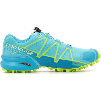 Chaussures Femme Running / trail Salomon Speedcross 4 W Blue Curac / Buebi / A