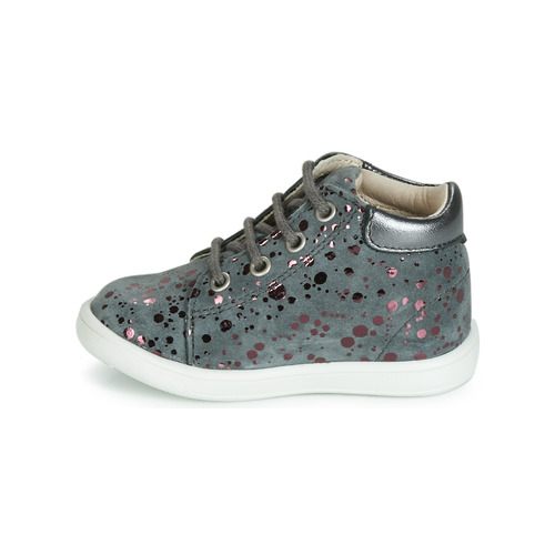 Chaussures Gbb Baskets Montantes GrisRose Nicky Fille uOiTwXPkZ