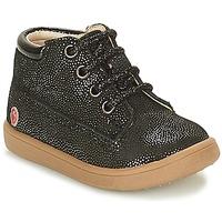 Chaussures Fille Boots GBB NINON Noir pailleté