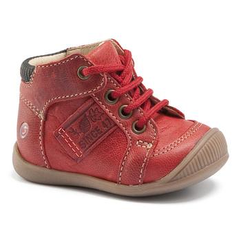 Chaussures Garçon Baskets montantes GBB RACINE VTE BRIQUE DPF/RAIZA