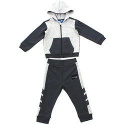 Vêtements Enfant Ensembles de survêtement adidas Performance SURVETEMENT EQUIPMENT ENFANT Gris