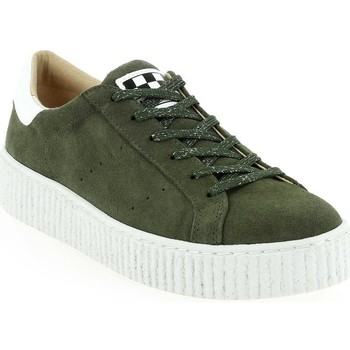 No Name Femme Sneakers Picadilly Tilleul
