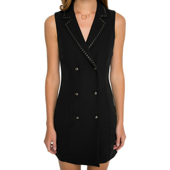 Vêtements Femme Robes courtes Liu Jo W17199 Noir