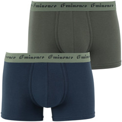 Vêtements Homme Boxers / Caleçons Eminence Lot de 2 boxers homme Success marinekaki