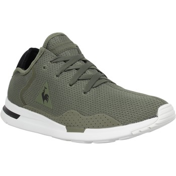 Chaussures Homme Baskets mode Le Coq Sportif Solas Sport toile Homme Olive Olive