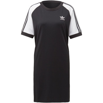 Vêtements Femme Robes courtes adidas Originals Robe 3-Stripes Raglan Noir