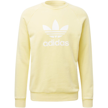 Vêtements Homme Sweats adidas Originals Sweat-shirt Trefoil Warm-Up Crew yellow