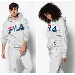 Vêtements Sweats Fila Sweat Capuche  Classic Logo Sweater Gris Unisexe Gris