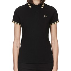 Vêtements Femme Polos manches courtes Fred Perry POLO  FEMME MADE IN ENGLAND G12 /157 Noir