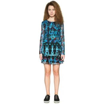 Vêtements Femme Robes courtes Desigual Robe Tona Enamel Blue 18SWVKC6 19