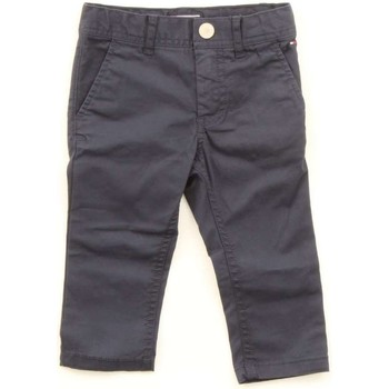 Vêtements Enfant Chinos / Carrots Tommy Hilfiger KB0KB03178 bleu