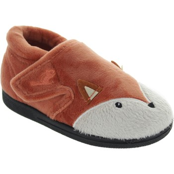 Chaussures Enfant Chaussons Chipmunks Mr Fox marron