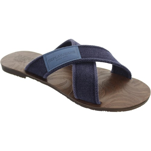 Replay Mans Bleu - Chaussures Sandale Homme